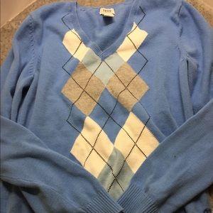 Izod Golf Classics V-Neck Sweater